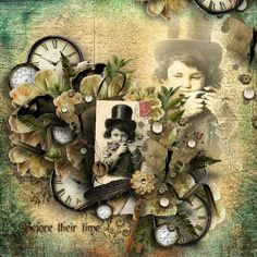 Before their Time | Digital Scrapbooking at Scrapbook Flair