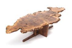George Nakashima, English Oak Burl Minguren II Coffee Table