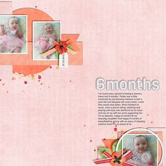 Layout using {Sweetest Days} Digital Scrapbook Kit by Bekah E Designs available at Gotta Pixel and The Digichick http://www.thedigichick.com/shop/The-Sweetest-Days-page-kit.html http://www.gottapixel.net/store/product.php?productid=10020045&cat=&page=1 #bekahedesigns