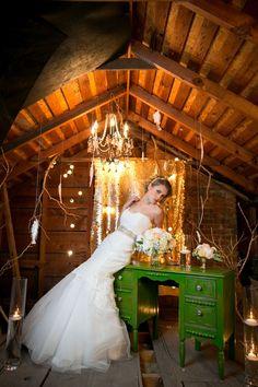 Kansas City wedding inspiration shoot.  Image by Pond Photography / www.pond-photography.com/