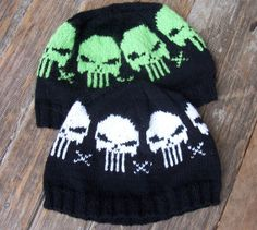Skully Cap Knitting Pattern for Babies Kids and by KISDesigns, $5.50