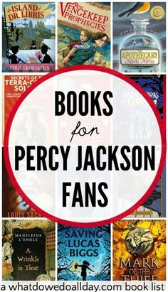 Books for kids who like Percy Jackson and The Lightening Thief.