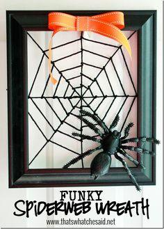 Funky Spiderweb Wrea