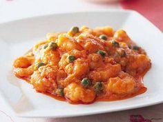 えびのチリソース | プリップリのえびに、特製のチリソースをまとわせて。辛さのなかにも香りと甘みがあります。
