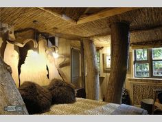 Not the treehouse of your youth....Treehouse and Converted Barn B+B in West Sussex