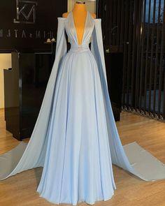 Pretty Prom Dresses, Glam Dresses, Prom Dresses Blue, Stunning Dresses, Beautiful Gowns, Cute Dresses, Elegant Dresses, Dress Outfits, Fashion Dresses
