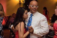 Michael Eric Berrios (ME) with my daughter at wedding