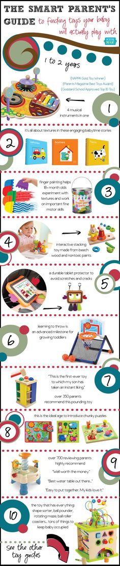Smart Baby Toys for 1-2 Year Olds