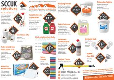 It's the beginning of the month - time to stock up on those household essential items. We stock a wide range of products at discount prices.  SCCUK - the solution to your cleaning and janitorial needs.  Pop along and grab yourselves a bargain.  83 Lynch lane, Weymouth DT4 9DN