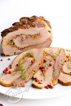 Ham Recipes, Low Carb Recipes, Dinner Recipes, Cooking Recipes, Healthy Recipes, Brunch, How To Cook Pork, Polish Recipes, Polish Food