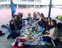 Der Ramadan verbindet die Kulturen – so wir hier am Roten Platz an der TechFak
