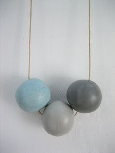 Juggling Necklace by FoxandWhale on Etsy