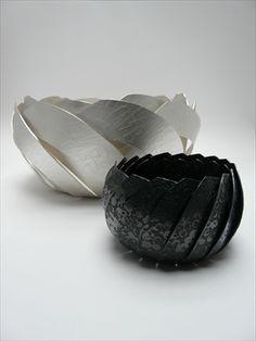Silver Etched Bowls Karina Gill