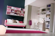 Cool and Modern Teenage Girl Bedroom Ideas