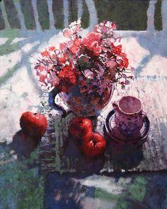 C. M. Dudash. Bouquet with Apples