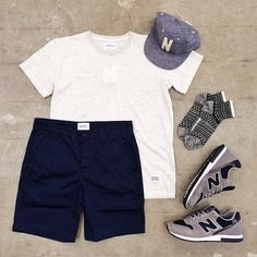 Outfit grid - It's summer Grid Sport Stylish Men, Men Casual, Casual Outfits, Fashion Outfits, Fashion Tips, Outfit Grid, Mode Style, Streetwear Fashion, Dress To Impress