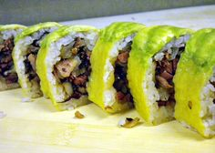 Wasabi Sushi Rolls #sushi