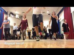 Drury lane tap dance - warm up - 2014 - YouTube
