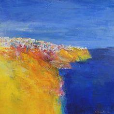Il s'agit d'une peinture à l'huile originale par Hiroshi Matsumoto Titre : Mai 2018-1 Dimensions : 45,5 x 45,5 cm (environ 18 x 18) Médias : Huile sur toile tendue Année : 2018 Peinture est livrée avec certificat d'authenticité signé par l'artiste. J'expédie dans le monde entier