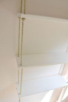 DIY shelf & rope