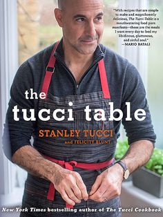 The 18 Cookbooks You Need This Fall   THE TUCCI TABLE   Stanley Tucci loves food – this is the actor's second cookbook – and thank goodness for it. He and his wife, Felicity Blunt, combine his Italian roots with her British heritage to create a collection of recipes best served with family (and wine, let's not forget the wine). Available Oct. 28 Recipe to Make: Gnocchi with Sage Butter, the couple's tried and true homemade pasta
