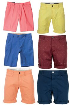 Colored Shorts - Still rolling the shorts up or buying tailored ones. #menspring2013