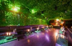 New Year Eve Party Decorations | New Year's Eve 2010 Greenhouse Nightclub Interior Decoration Ideas
