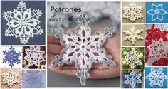 La Mejor Colección de Copos de Nieve en Crochet