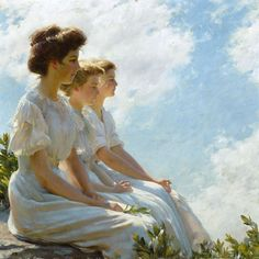 Brooklyn Museum - On the Heights - Charles Courtney Curran