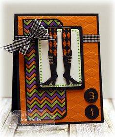 Taylored Expressions September Sneak Peek: The Witch Is In and Halloween Doodles » deconstructing jen | handmade cards, sketches and tutorials