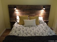 Your bedroom is the space where you start and end the day, why not make it a room that you love? See a few DIY headboard ideas that will help you create a bedroom all your own.
