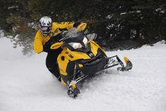 Ski-Doo sledding!