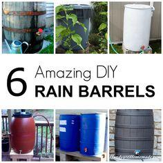 6 DIY Rain Barrels, How To Make A Rain Barrel Tutorials