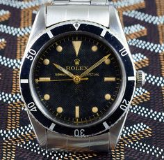 Welcome To RolexMagazine.com...Home Of Jake's Rolex World Magazine..Optimized for iPad and iPhone: Early Rolex Submariner Model History Separating The Fact From Fiction..