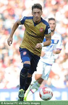 World class talent like Mesut Ozil and Eden Hazard will go head-to-head as Arsenal face Ch...