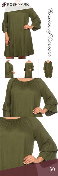 HOST PICK 🎉🎉🅿️ Plus Size Off The Shoulder Dress NEW: When you wear this off the shoulder dress, it makes you look and feel adorable. Made in the USA Dresses Maxi