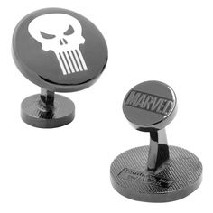 Marvel The Punisher Cuff Links, Men's, Black