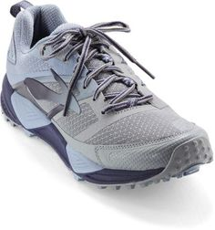 75a34f6481992 Brooks Men s Cascadia 12 Mt. Rainier National Park Trail-Running Shoes  Glacier Navy