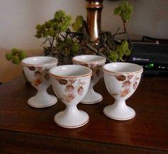 Antique Noritake Nippon Toki Kaisha Egg Cups (10) Egg Cups, Noritake, Boiled Eggs, Tooth, Antiques, Tableware, Ebay, Collection, Egg Holder