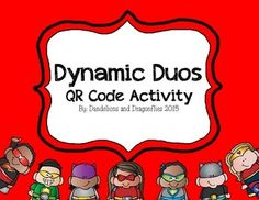 Dynamic Duos QR Code Activity Get To Know Me, Getting To Know, Spanish Immersion, Elementary Spanish, Staff Meetings, Dynamic Duos, Professional Development, Classroom, Pairs