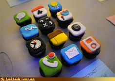 Food for thought! Love these cupcakes
