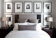 The ideas presented in this article will be of great use while you are preparing to decorate a master bedroom, especially if you have a small master bedroom. There are multitudes of ways to make a small master bedroom look… Continue Reading → Small Master Bedroom, Master Bedroom Design, Home Bedroom, Small Bedrooms, Bedroom Black, Master Bedrooms, Silver Bedroom, Budget Bedroom, Bedroom Wardrobe