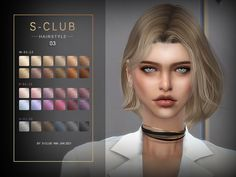 Sims 4 Mac, Sims Cc, Sims 4 Mods Clothes, Sims 4 Clothing, Marigold Sims 4, Club Hairstyles, Female Hairstyles, The Sims 4 Cabelos, Pelo Sims