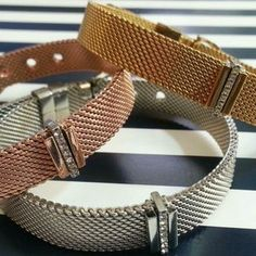 Keep Collective Mesh Bracelets - design your own personalized jewelry- tell your story