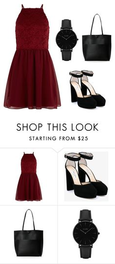 """""""Yes or no?😍 Comment👇"""" by inspifrompolyvore ❤ liked on Polyvore featuring New Look, Jimmy Choo, Street Level and CLUSE"""