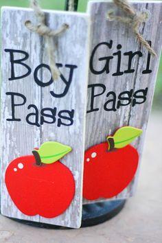 Hall Pass DIY