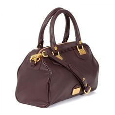 81088b181e Snappy leather bowling bag