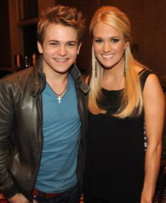 hunter hayes :) and Carrie Underwood... I wanna go to this concert sooo badly