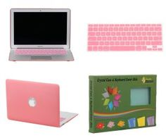 Amazon.com: Bundle Monster Apple MacBook Air 11 Inch Crystal Hard Case Shell and Keyboard Sleeve Cover Combo - Pink - Fits only the MacBook Air 11 Inch Size: Computers & Accessories