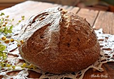 No-knead Pumpernickel Sourdough Bread, THM E, Dairy Free | Around the Family Table – Food. Fun. Fellowship Low Carb Recipes, Bread Recipes, Starter Recipes, Sourdough Rolls, Trim Healthy Momma, Rye Flour, Caraway Seeds, Wheat Gluten, How To Make Bread